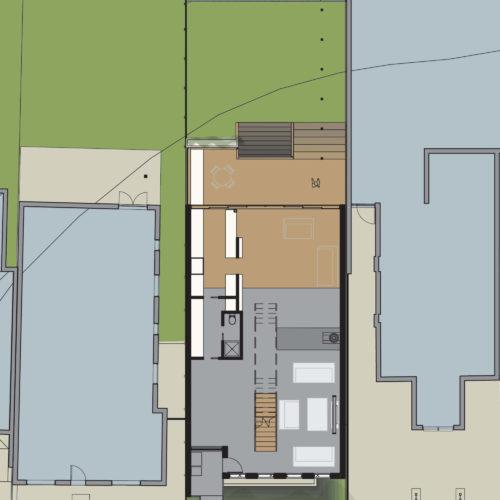 Opat Architects House Prahran I Ground Floor Plan