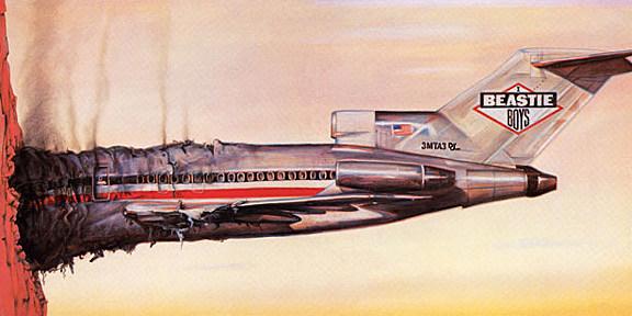Beastie Boys licensed to Ill 1986 Album Cover