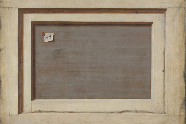 Cornelius Norbertus Gijsbrechts -Trompe l'oeil. The Reverse of a Framed Painting