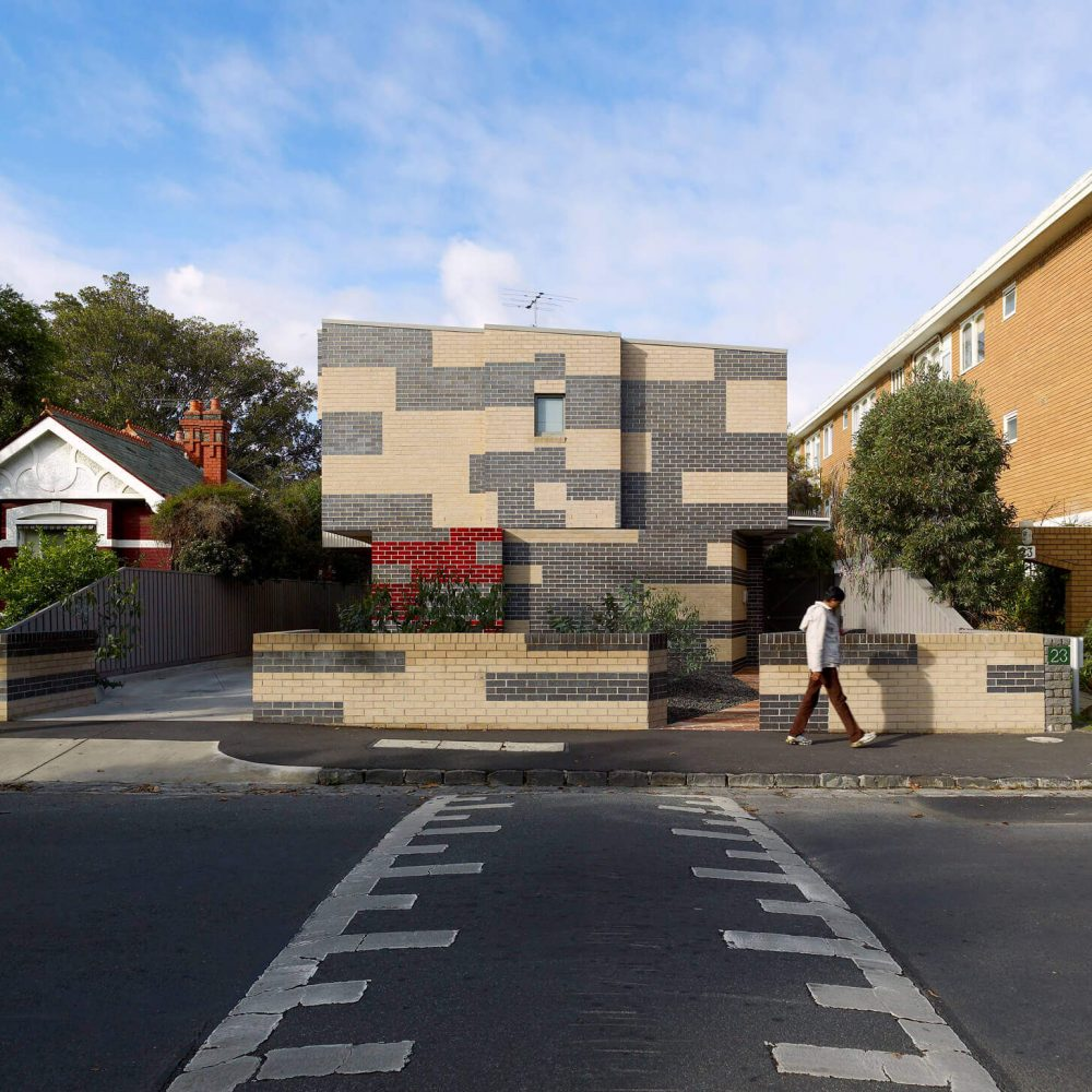 Opat Architects Australia Housing East St Kilda street frontage