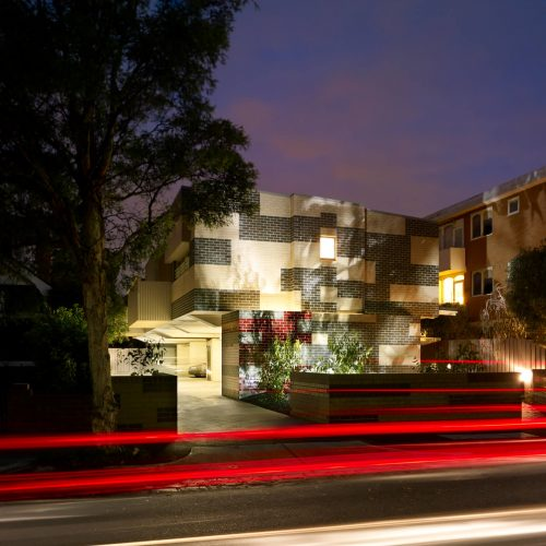 Opat Architects Australia Housing East St Kilda view from street frontage