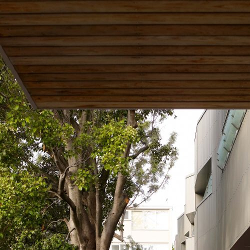 Opat Architects Housing East St Kilda view from car park
