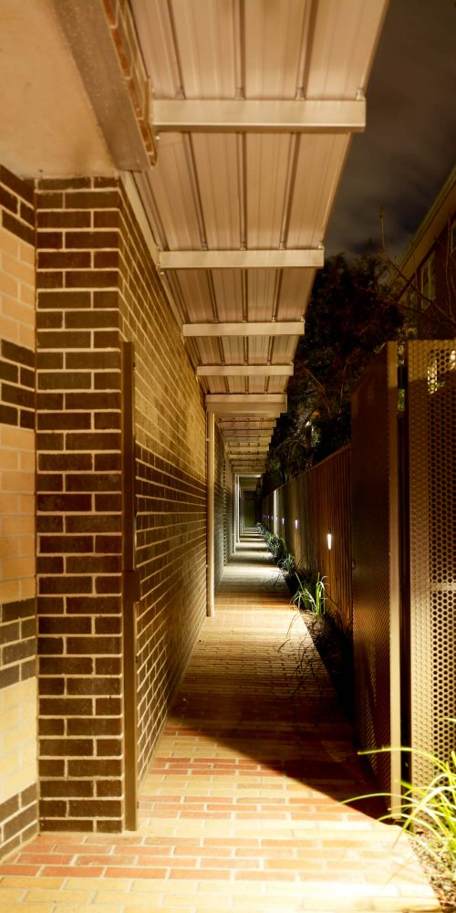 Opat Architects Housing East St Kilda main entry