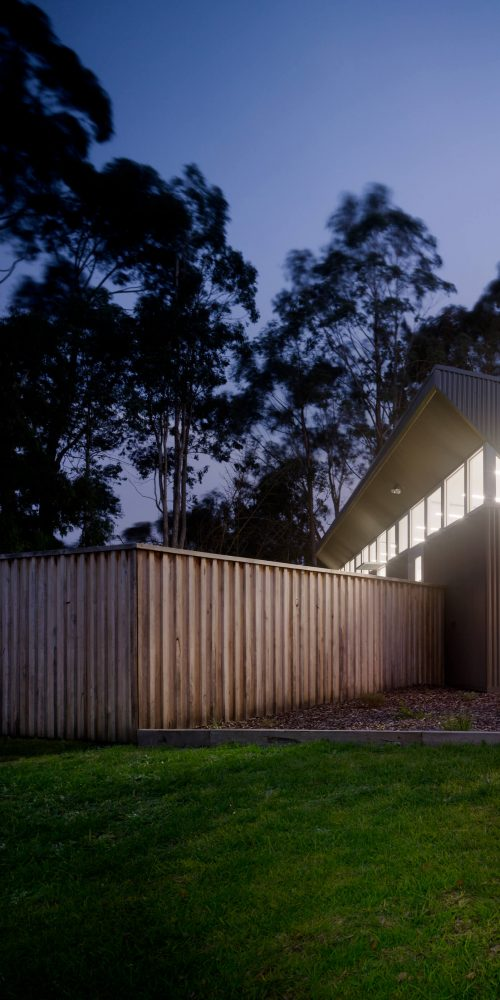 Opat Architects Australia Melbourne School Timboon sub school years 5 to 8 north eastern corner