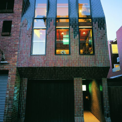 Opat Architects Infill South Melbourne photo from laneway