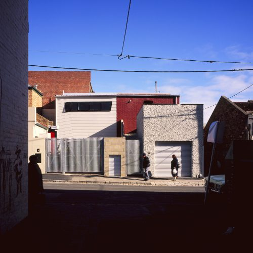 Opat Architects Infill Fitzroy east elevation