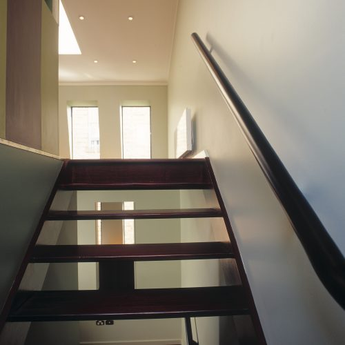 Opat Architects Infill South Melbourne internal staircase