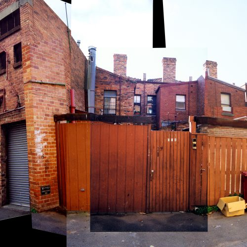 Opat Architects Infill South Melbourne photo of condition before the work