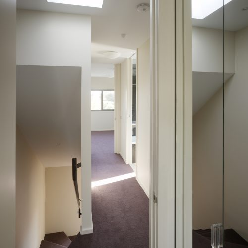 Opat Architects Dual Occupancy Homes Praharn East First floor corridor
