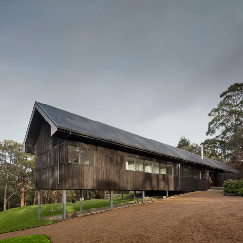 Opat Architects House Red Hill South view to south western corner