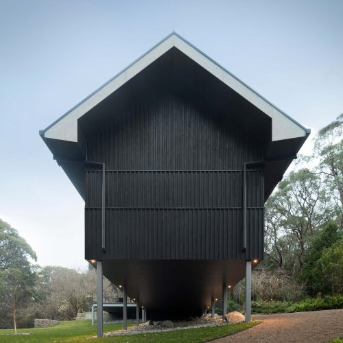 Opat Architects House Red Hill South west elevation