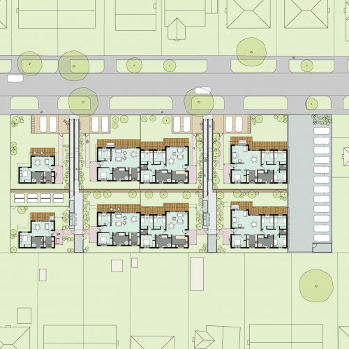 Opat Architects Housing Dandenong Competition Plan Drawing