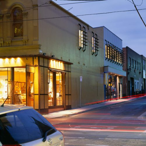 Opat Architects Infill South Yarra photo from Chapel Street