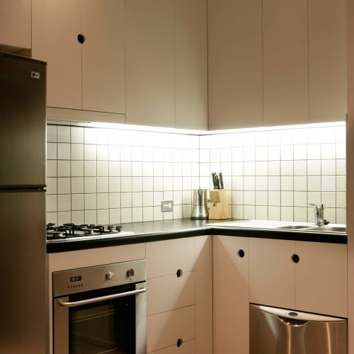 Opat Architects Infill South Yarra photo of kitchen