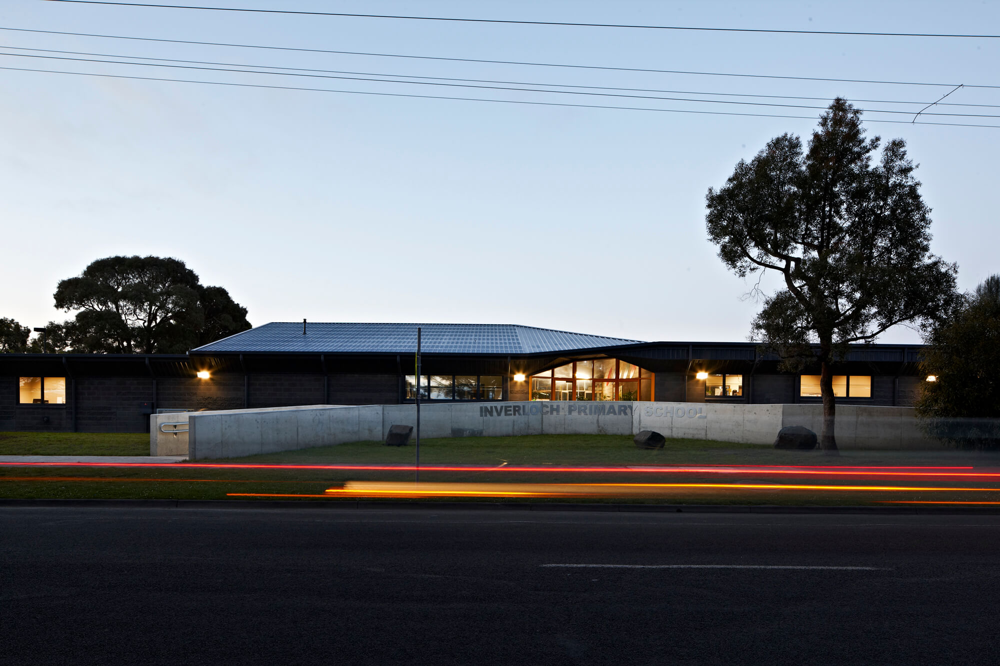 Opat Architects Inverloch Primary School main entry ramp