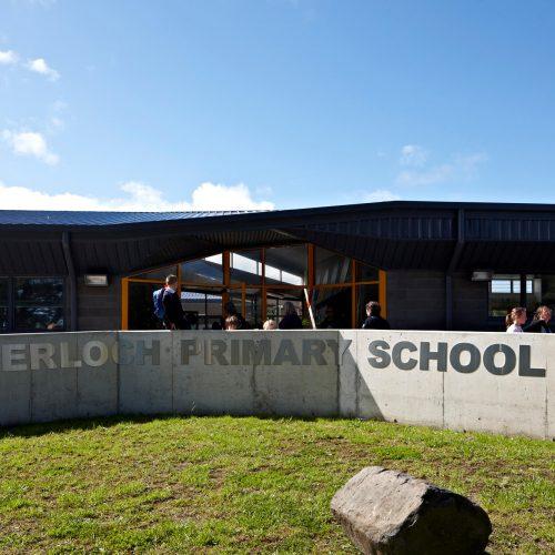 Opat Architects Inverloch Primary School main entry ramp