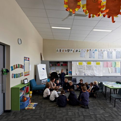 Opat Architects Inverloch Primary School two classes being co-joined