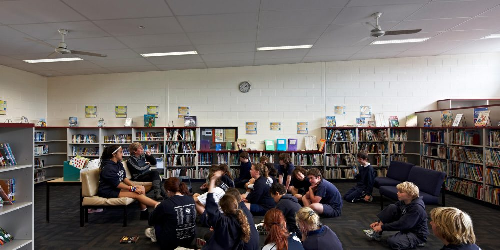 Opat Architects Inverloch Primary School library