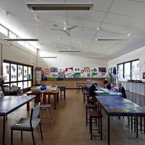 Opat Architects Inverloch Primary School art room