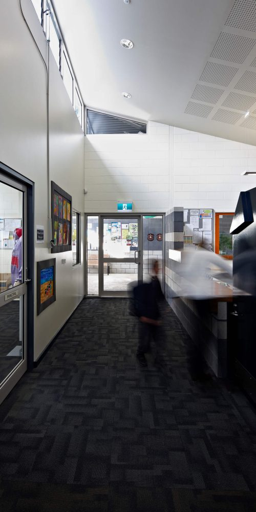 Opat Architects Inverloch Primary School reception and offices