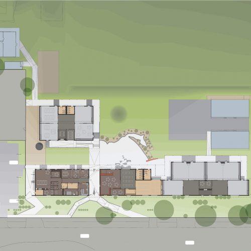 Opat Architects Inverloch Primary School plan drawing