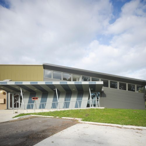 Opat Architects Recreaction Community Centre Timboon photo north elevation