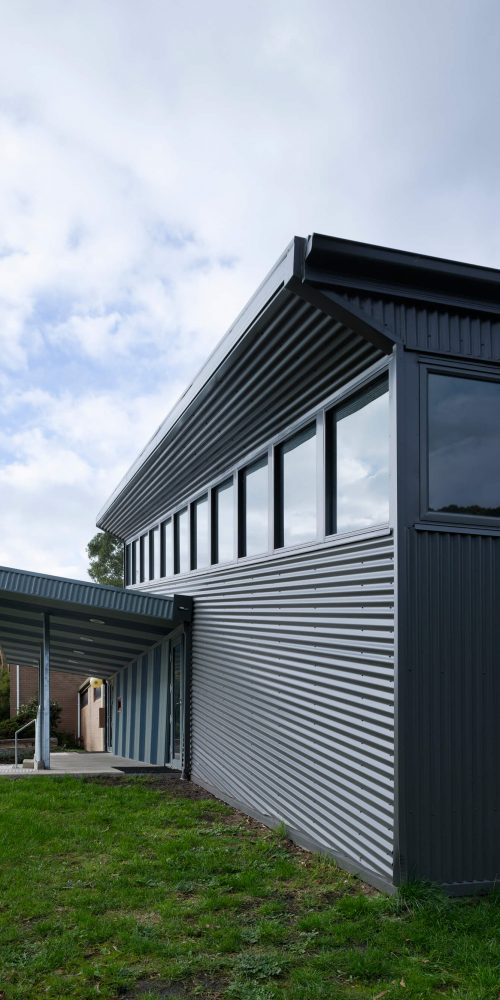 Opat Architects Recreaction Community Centre Timboon photo of north western corner
