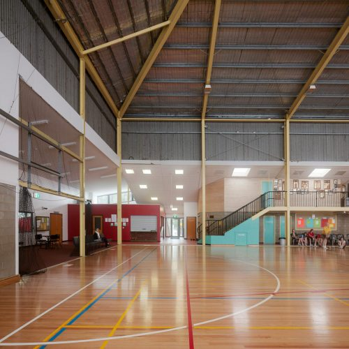 Opat Architects Recreaction Community Centre Timboon photo of new floor, entry office and cafe