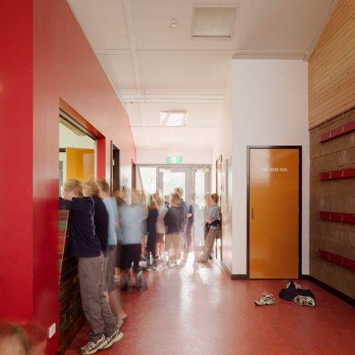 Opat Architects Recreaction Community Centre Timboon photo of new entry and office