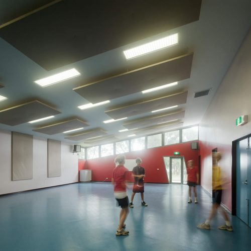 Opat Architects Recreaction Community Centre Timboon photo of new multi purpose recreational space