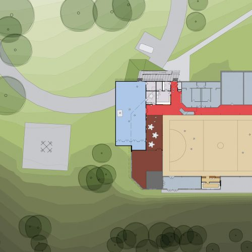 Opat Architects Recreaction Community Centre Timboon plan drawing
